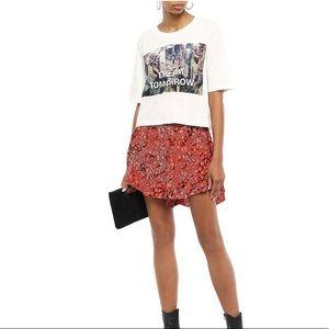 Maje Ruffled Shorts
